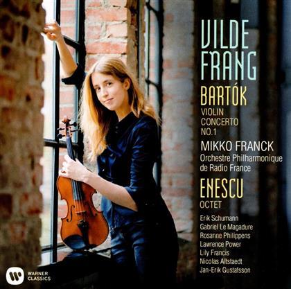 Béla Bartók (1881-1945), Georges Enesco, Mikko Franck, Vilde Frang & Orchestre Philharmonique de Radio France - Violinkonzert Nr. 1, Oktett C-Dur