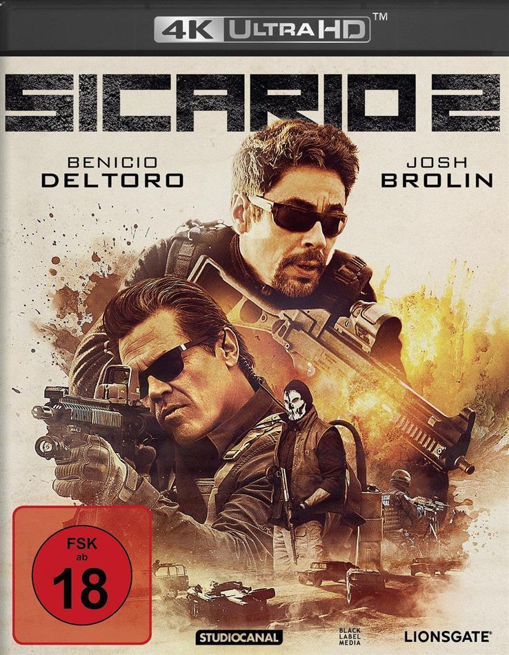 Sicario 2 (2018) (4K Ultra HD + Blu-ray)