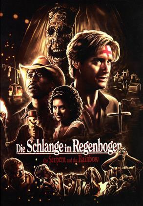 Die Schlange im Regenbogen (1988) (Limited Edition, Mediabook, Uncut, Blu-ray + DVD)