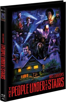 The People under the Stairs (1991) (Limited Edition, Mediabook, Uncut, Blu-ray + DVD)