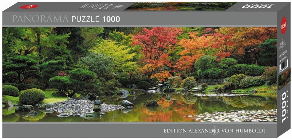 Zen Reflection - 1000 Teile Panorama Puzzle
