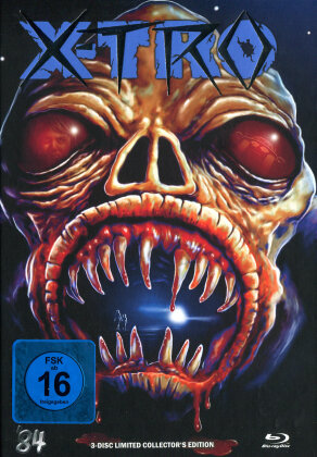 X-Tro (1982) (Cover I, Limited Edition, Mediabook, Blu-ray + DVD + CD)