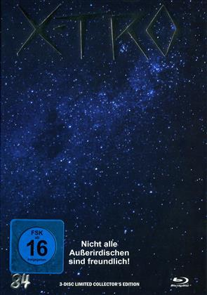 X-Tro (1982) (Cover G, Limited Edition, Mediabook, Blu-ray + DVD + CD)