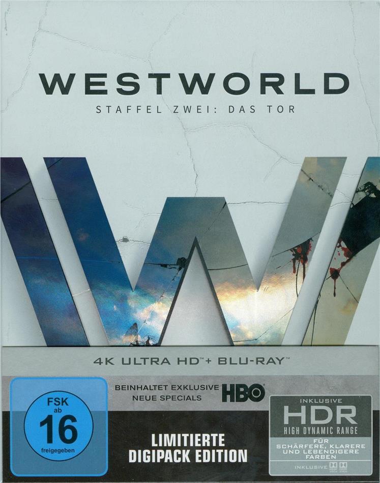 Westworld - Staffel 2 - Das Tor (Digipack, Limited Edition, 3 4K Ultra HDs + 3 Blu-rays)