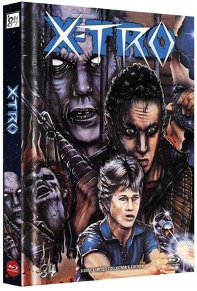 X-TRO (1982) (Cover H, Limited Edition, Mediabook, Blu-ray + DVD + CD)