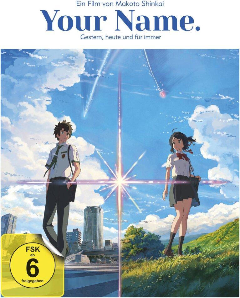 Your Name. - Gestern, heute und für immer (2016) (White Edition, Collector's Edition, Edizione Limitata, Blu-ray + CD)