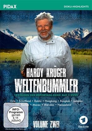 Hardy Krüger - Weltenbummler - Vol. 2 (Pidax Doku-Highlights, 3 DVDs)