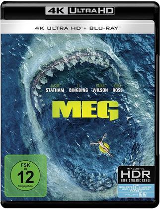 MEG (2018) (4K Ultra HD + Blu-ray)