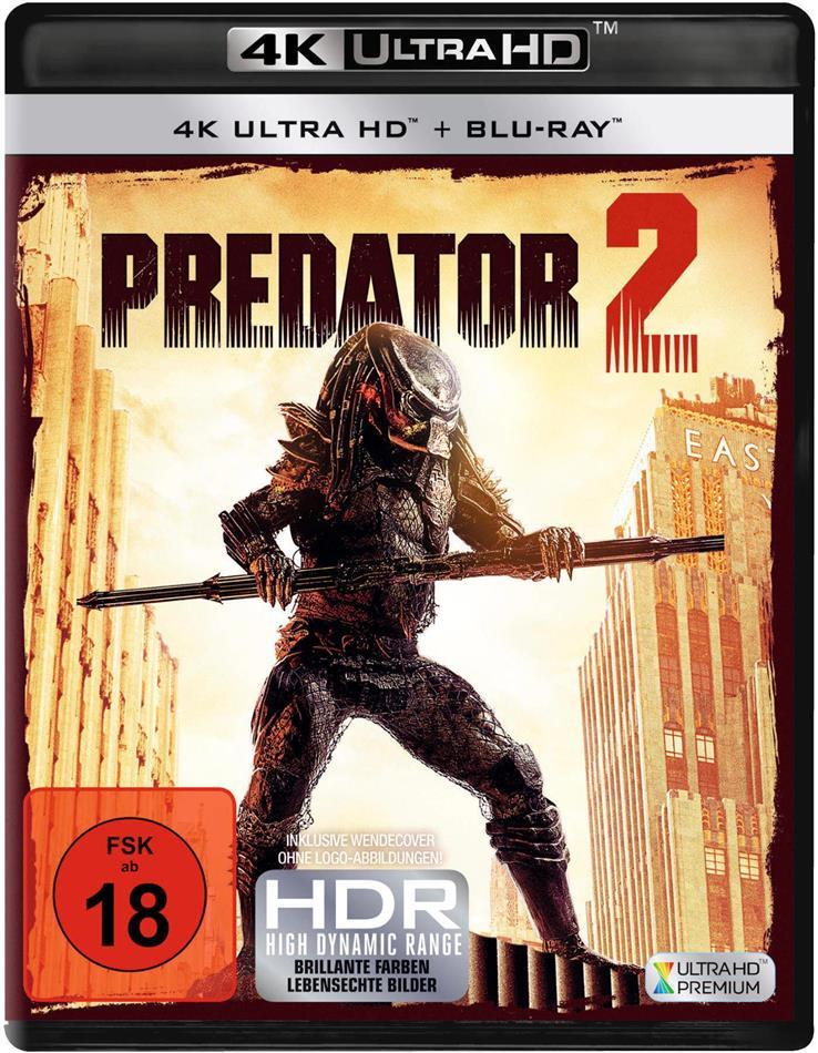 Predator 2 (1990) (4K Ultra HD + Blu-ray)