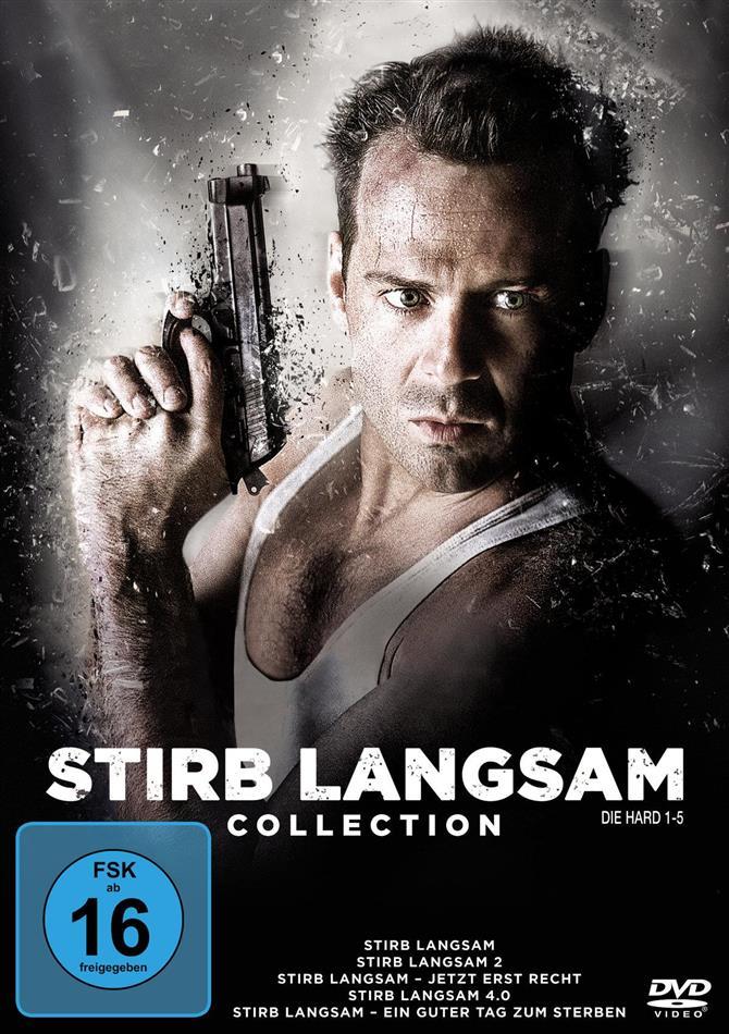 Stirb langsam 1-5 (Neuauflage, 5 DVDs)