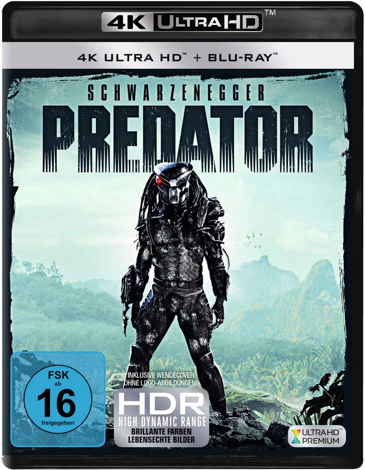 Predator (1987) (4K Ultra HD + Blu-ray)