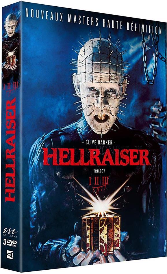 Hellraiser 1-3 - Trilogy (Remastered, 3 DVDs)