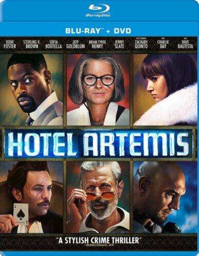 Hotel Artemis (2018) (Blu-ray + DVD)