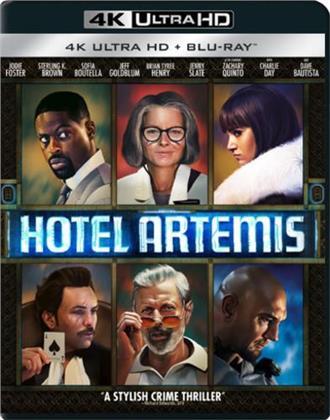 Hotel Artemis (2018) (4K Ultra HD + Blu-ray)