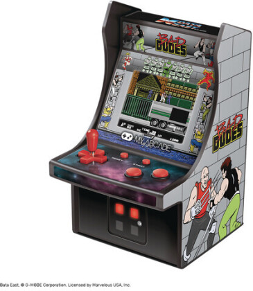"My Arcade Micro Player 6"" Collectible Retro Bad Dudes"