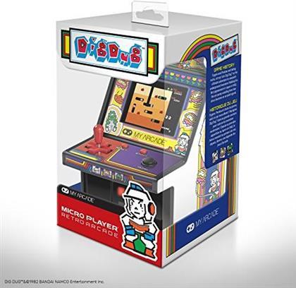 """My Arcade Micro Player 6"""" Collectible Retro Dig Dug"""