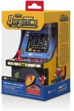 """My Arcade Micro Player 6"""" Collectible Retro Burgertime"""