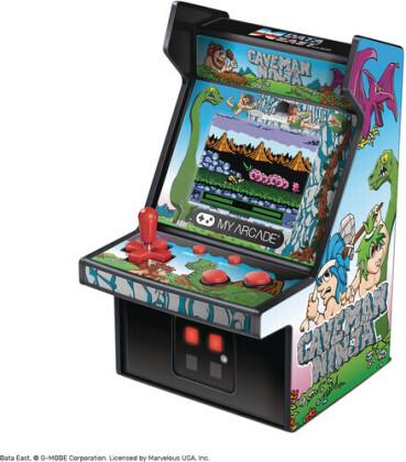 "My Arcade Micro Player 6"" Collectible Retro Caveman Ninja"