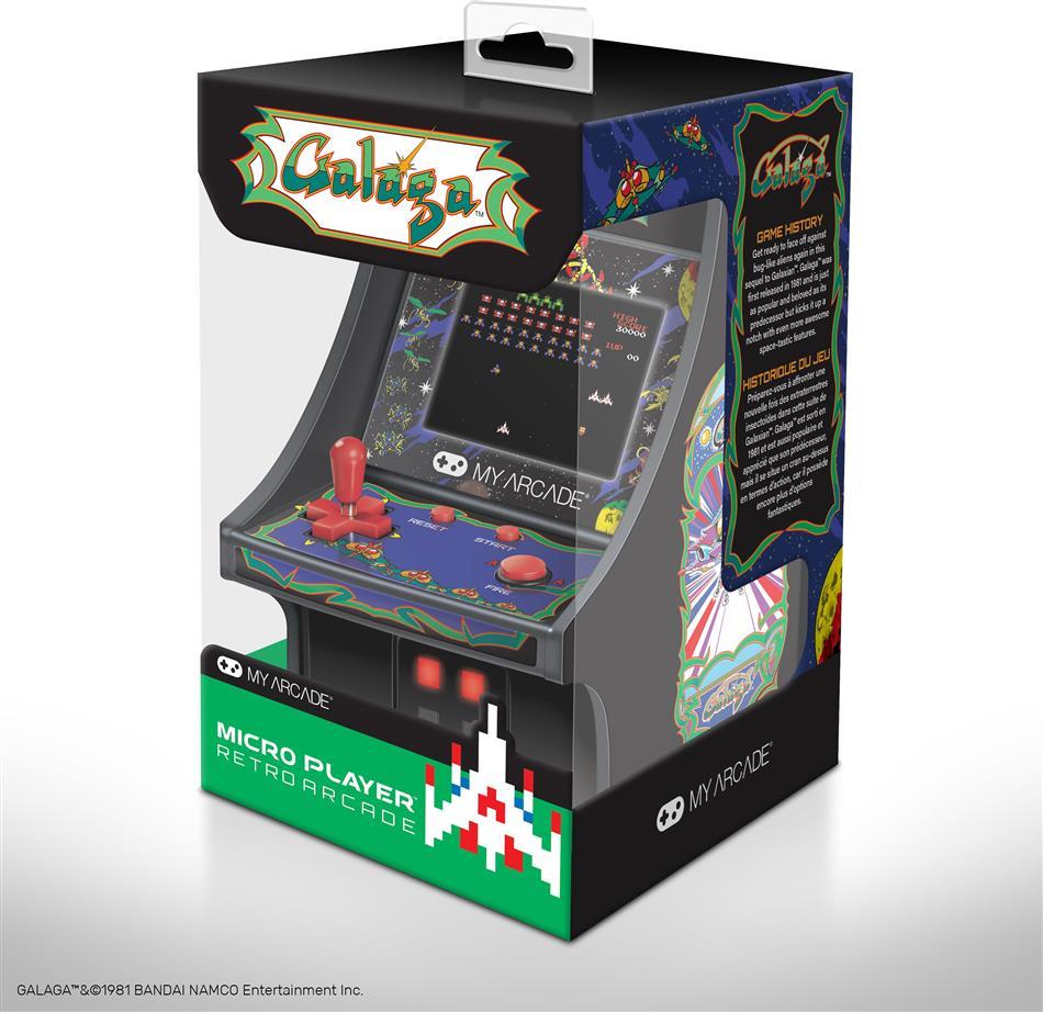 """My Arcade Micro Player 6"""" Collectible Retro Galaga (DE/FR/IT)"""