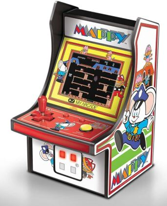 "My Arcade Micro Player 6"" Collectible Retro Mappy"