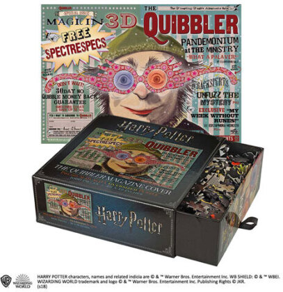 Harry Potter: The Quibbler Magazine Cover - Puzzle