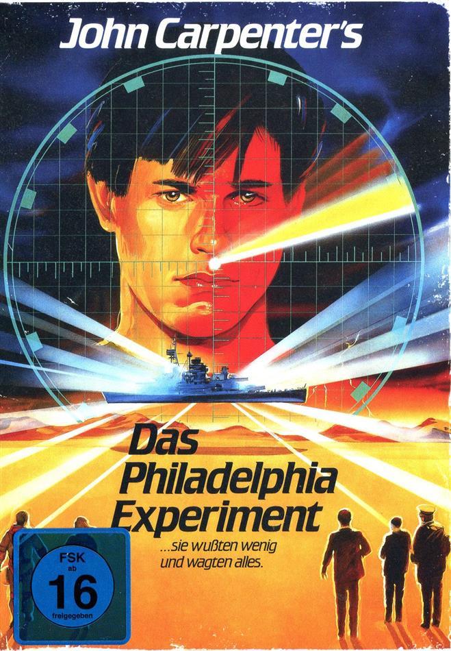 Das Philadelphia Experiment (1984) (Limited Edition, Mediabook, Uncut, 2 Blu-rays + 2 DVDs)