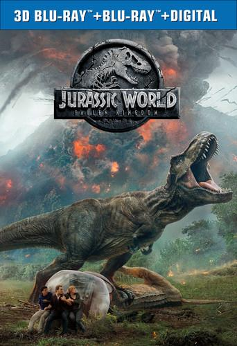 Jurassic World 2 - Fallen Kingdom (2018) (Blu-ray 3D + Blu-ray)
