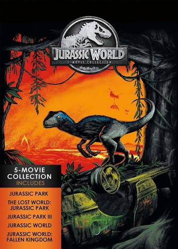 Jurassic World - 5-Movie Collection (5 DVDs)
