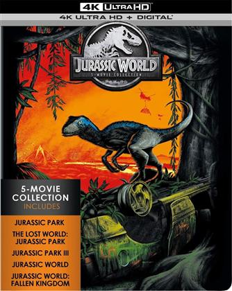 Jurassic World - 5-Movie Collection (Limited Edition, 4K Ultra HD + Blu-ray)
