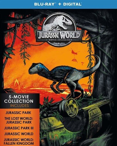 Jurassic World - 5-Movie Collection (Collector's Edition, 5 Blu-rays)