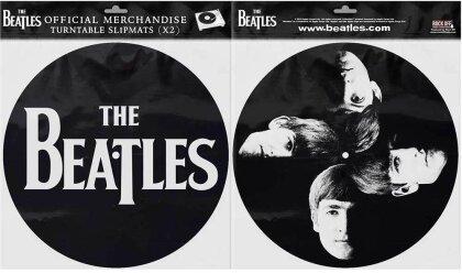 The Beatles Turntable Slipmat Set - Drop T Logo & Faces (Retail Pack)