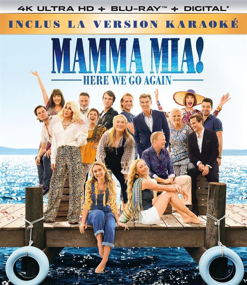Mamma Mia! 2 - Here We Go Again (2018) (Karaoke Edition, 4K Ultra HD + Blu-ray)