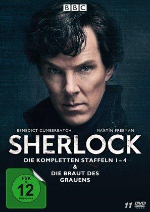 Sherlock - Staffeln 1-4 & Die Braut des Grauens (BBC, 11 DVDs)