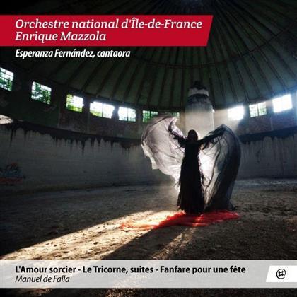Manuel de Falla (1876-1946), Enrique Mazzola & Orchestre National D'Ile De France - L'Amour Sorcier / Le Tricorne Suites / Fanfare Pour Un Fete