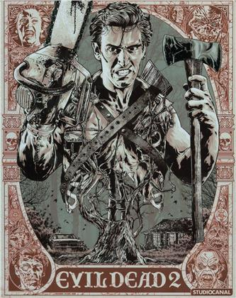 Evil Dead 2 (1987) (Steelbook, 4K Ultra HD + 2 Blu-ray)
