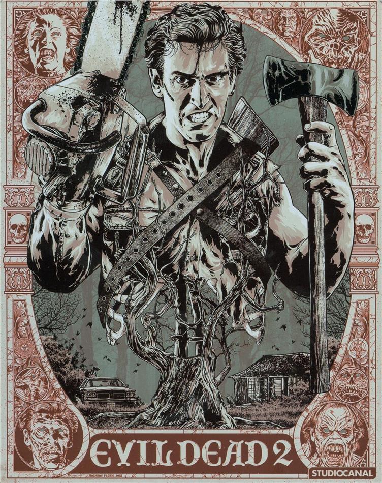 Evil Dead 2 (1987) (Steelbook, 4K Ultra HD + 2 Blu-rays)