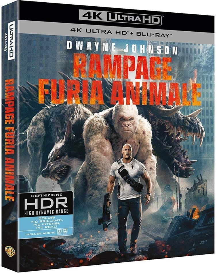Rampage - Furia animale (2018) (4K Ultra HD + Blu-ray)