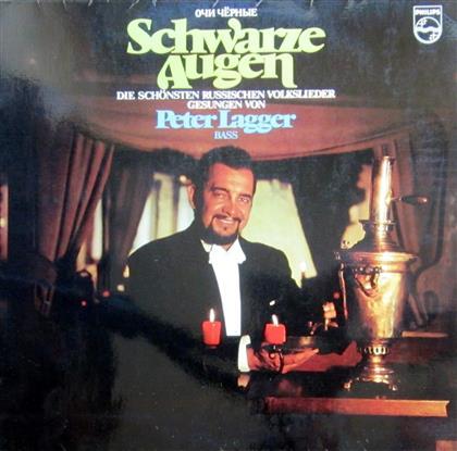 Peter Lagger - Schwarze Augen (LP)