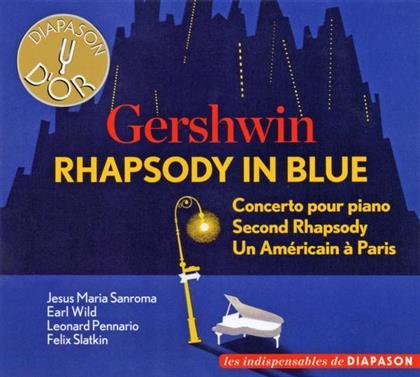 Slaktin-Fiedler-Boston Pops Orchestra, Felix Slatkin, Arthur Fiedler, Earl Wild, Leonard Pennario, … - Rhapsody In Blue-An Maerican In Paris (Diapason D'Or)