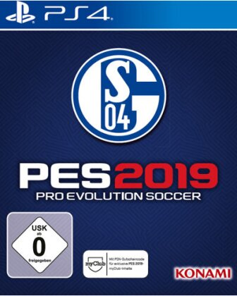 PES 2019 - Pro Evolution Soccer - (Limiterte Schalke 04 Edition)