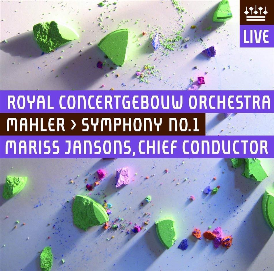 Gustav Mahler (1860-1911), Mariss Jansons & Royal Concertgebouw Orchestra - Symphony No. 1 - Symphonie Nr. 1 (UHQCD, Japan Edition)