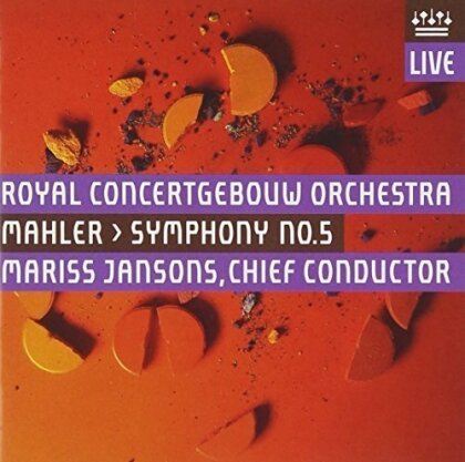 Gustav Mahler (1860-1911), Mariss Jansons & Royal Concertgebouw Orchestra - Symphony No. 5 - Symphonie Nr. 5 (UHQCD, Japan Edition)