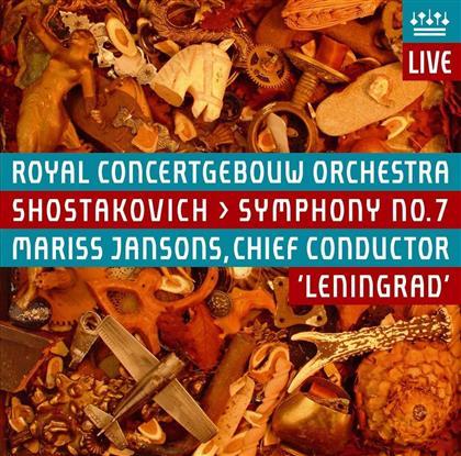 Dimitri Schostakowitsch (1906-1975), Mariss Jansons & Royal Concertgebouw Orchestra - Symphony No. 7 - Symphonie Nr. 7 (UHQCD, Japan Edition)