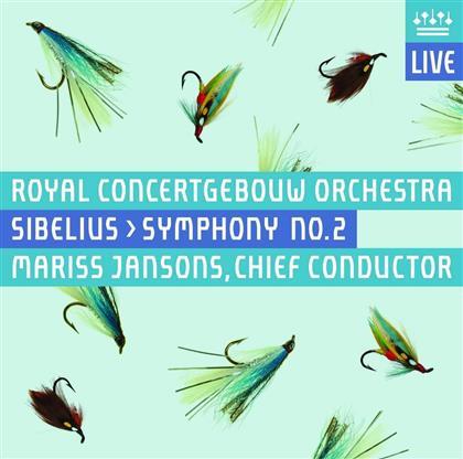 Jean Sibelius (1865-1957), Mariss Jansons & Royal Concertgebouw Orchestra - Symphony No. 2 - Symphonie Nr. 2 (UHQCD, Japan Edition)