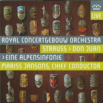 Richard Strauss (1864-1949), Mariss Jansons & Royal Concertgebouw Orchestra - Eine Alpensinfonie (UHQCD, Japan Edition)