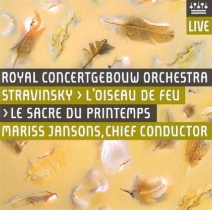 Igor Strawinsky (1882-1971), Mariss Jansons & Royal Concertgebouw Orchestra - Firebird / Der Feuervogel / L'Oiseau De Feu (UHQCD, Japan Edition)