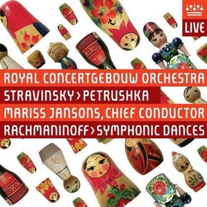 Igor Strawinsky (1882-1971), Mariss Jansons & Royal Concertgebouw Orchestra - Petrushka (UHQCD, Japan Edition)