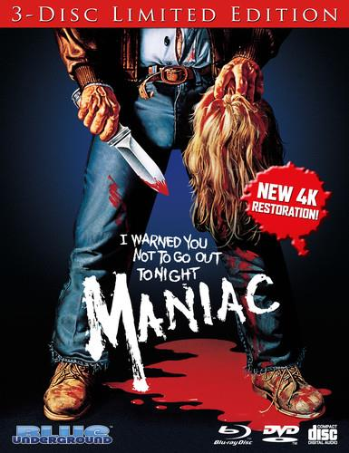 Maniac (1980) (4K Mastered, Limited Edition, Blu-ray + DVD + CD)