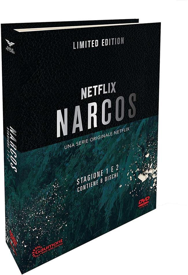 Narcos - Stagione 1 & 2 (Digibook, Edizione Limitata, 8 DVD)