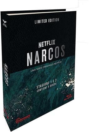 Narcos - Stagione 1 & 2 (Digibook, Edizione Limitata, 6 Blu-ray)